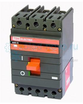 Выключатель автоматический TDM ВА88-35, 3Р, 160А, 35кА