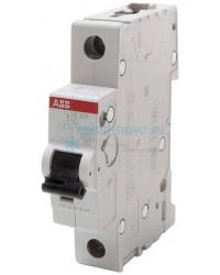 Выключатель автоматический 1-полюсный ABB S201, тип C, 6А, 6кА