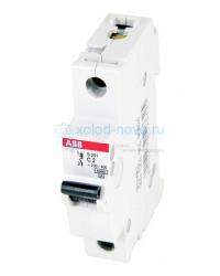 Выключатель автоматический 1-полюсный ABB S201, тип С, 10А, 6кА