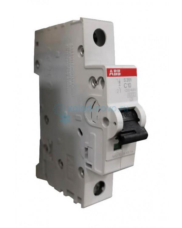 Выключатель автоматический 1-полюсный ABB SH201L, тип С, 10А, 4.5кА