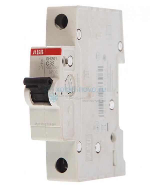 Выключатель автоматический 1-полюсный ABB SH201L, тип C, 32А, 4.5кА