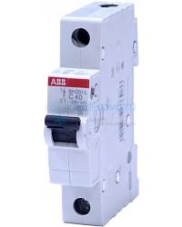 Выключатель автоматический 1-полюсный ABB SH201L, тип C, 40А, 4.5кА