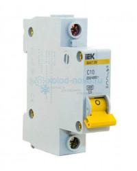 Выключатель автоматический 1-полюсный ИЭК ВА47-29, тип С, 10А, 4.5кА