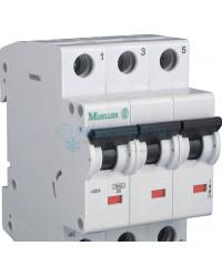 Выключатель автоматический 3-полюсный Моеller, тип C, 10А, 6кА