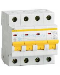Выключатель автоматический 4-полюсный ИЭК, тип C, 40А, 4.5кА