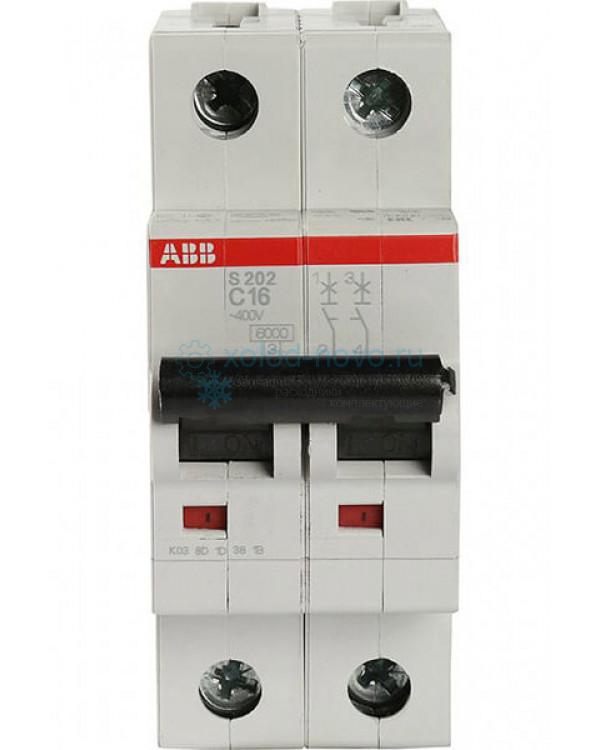 Выключатель автоматический дифференциальный мод. 2п C 16А  I=0.03A ABB
