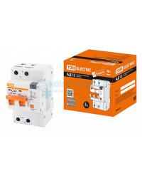 Выключатель автоматический дифференциальный TDM АД12 2P 32А 30мА
