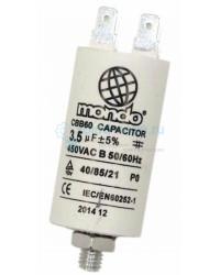 Конденсатор 3,5 мкф 400V