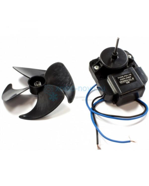 Микродвигатель с крыльчаткой F61-10G 220V